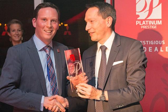 Platinum Prestige Dealer Award